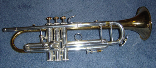 Bach trumpet after rennovation